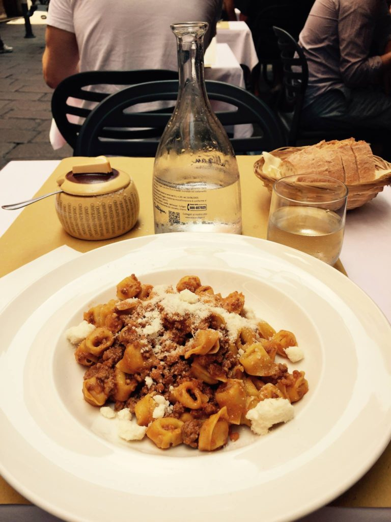 Lunch in Bologna
