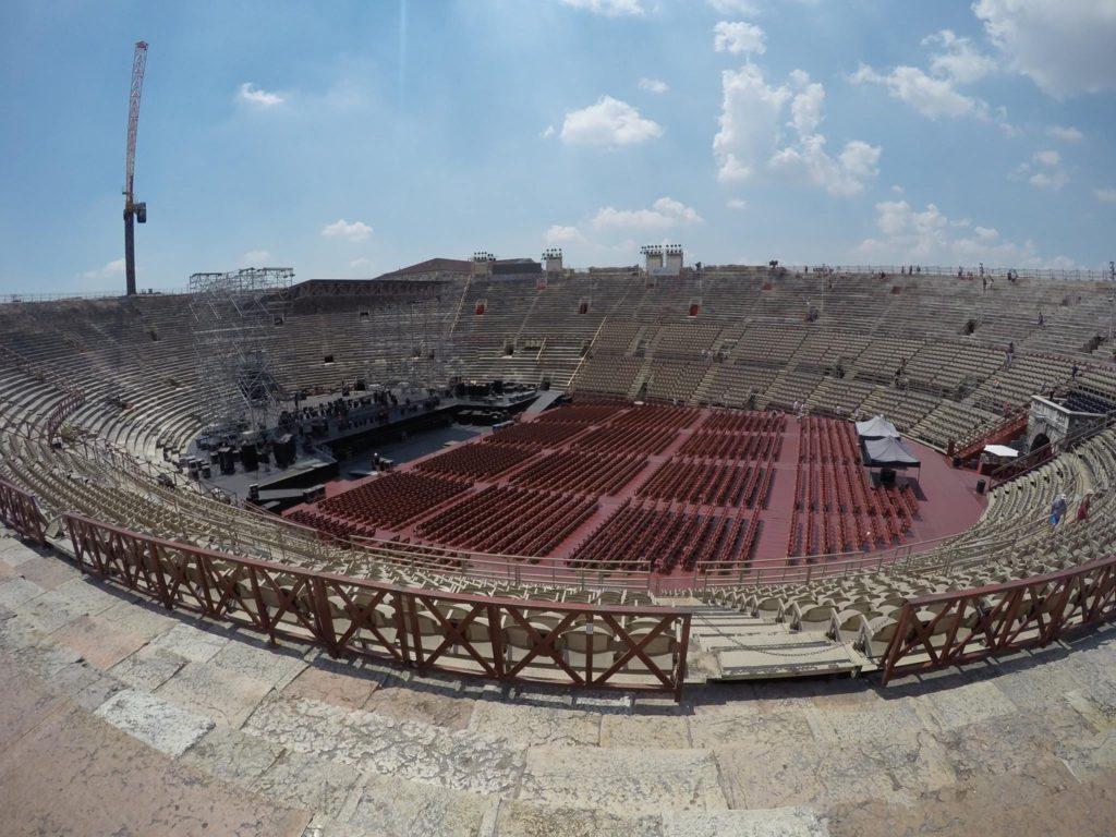 Verona's amphitheatre
