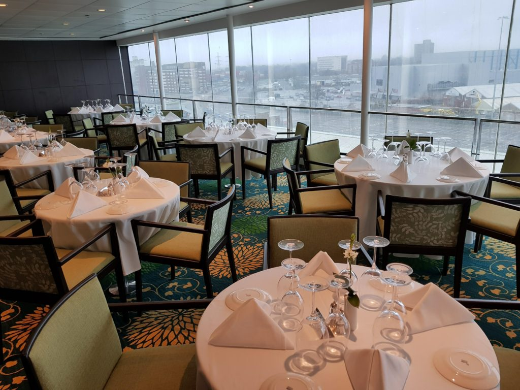 The Spey and Avon offer a more intimate dining experience