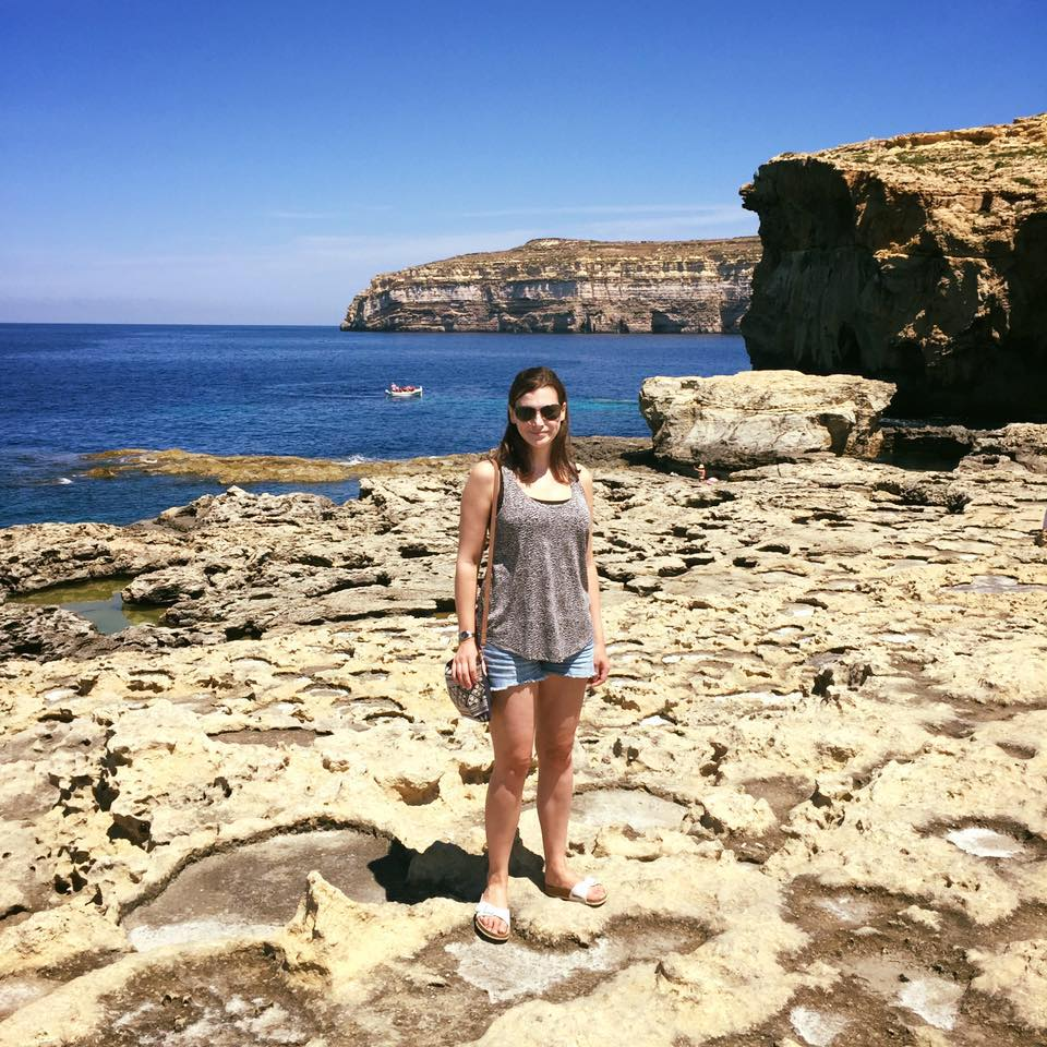 Me at the Azure Window