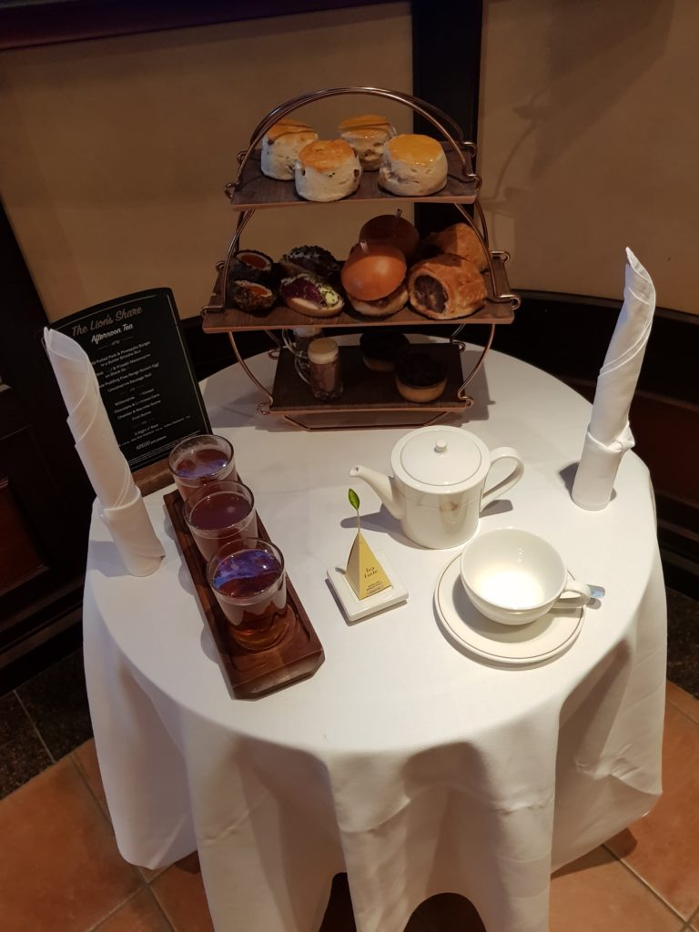 Afternoon tea at the Golden Lion