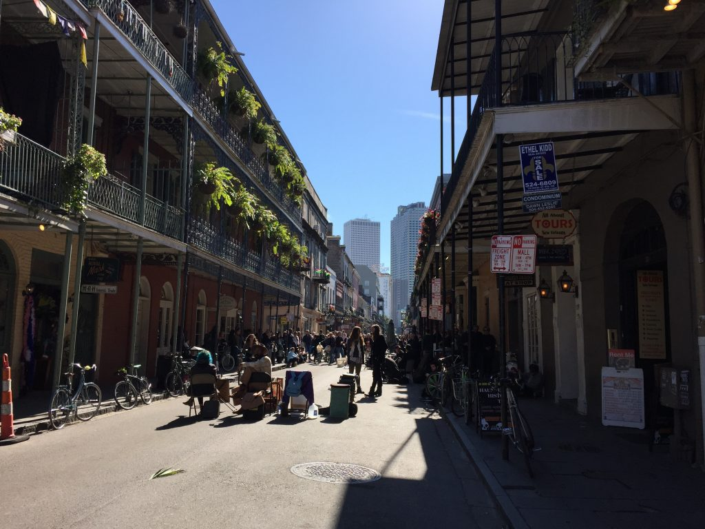 New Orleans is just one of the many popular destinations cruise ships visit