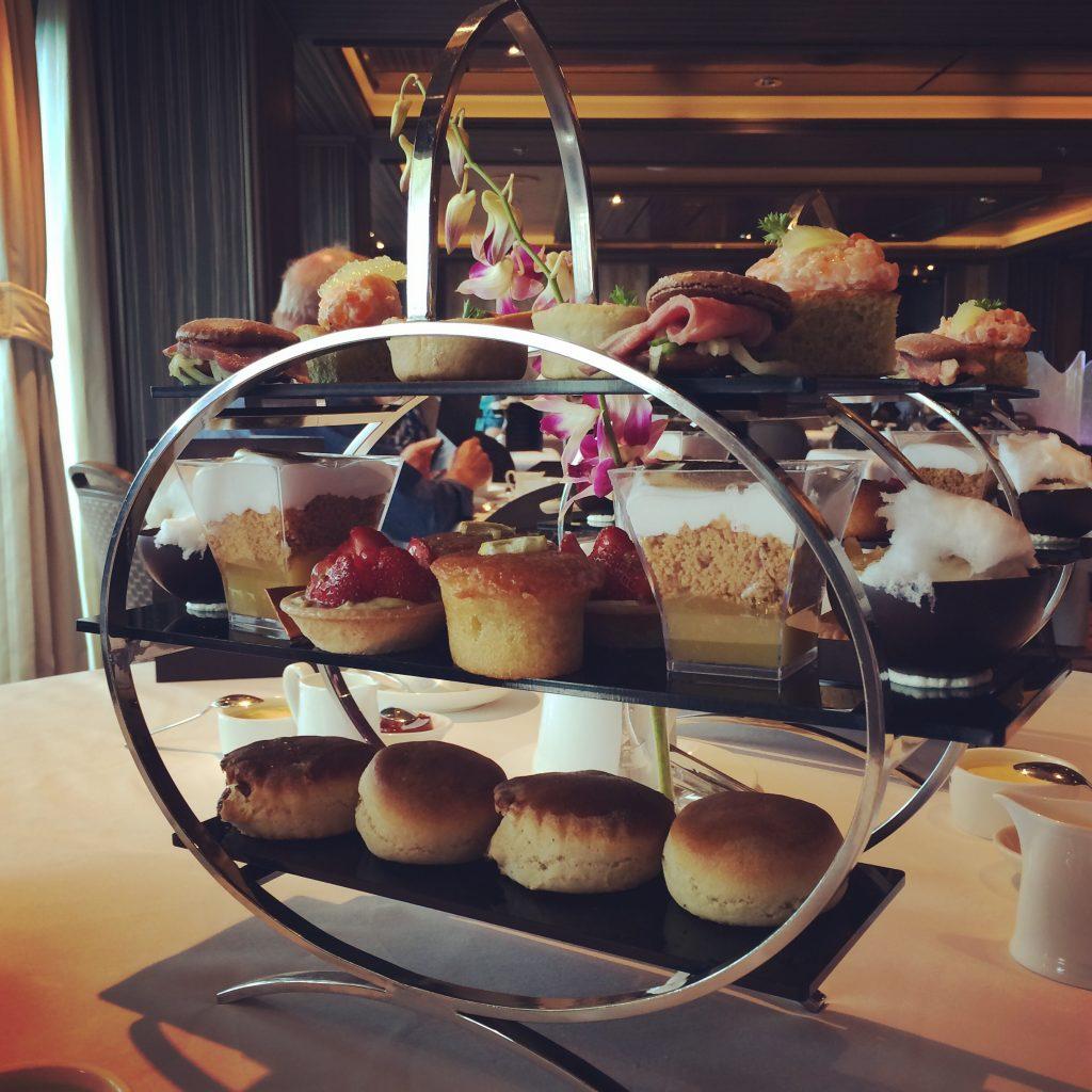 Eric Lanlard's afternoon tea on board Azura