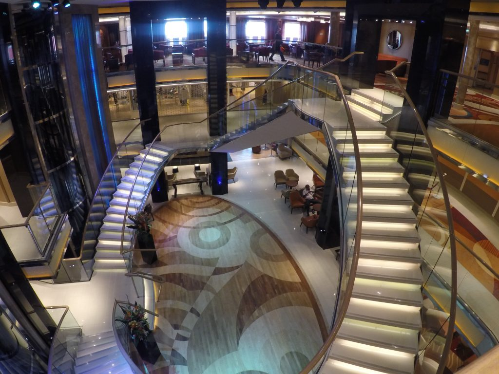 Many ships have Wi-Fi hotspots which can be found in bars, lounges and central areas such as the atrium