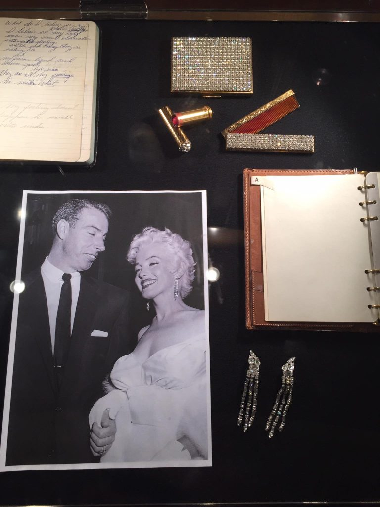 Items belonging to Monroe were showcased on board Cunard's Queen Mary 2