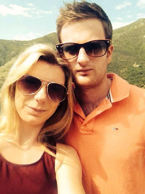 David and Estelle in Kotor