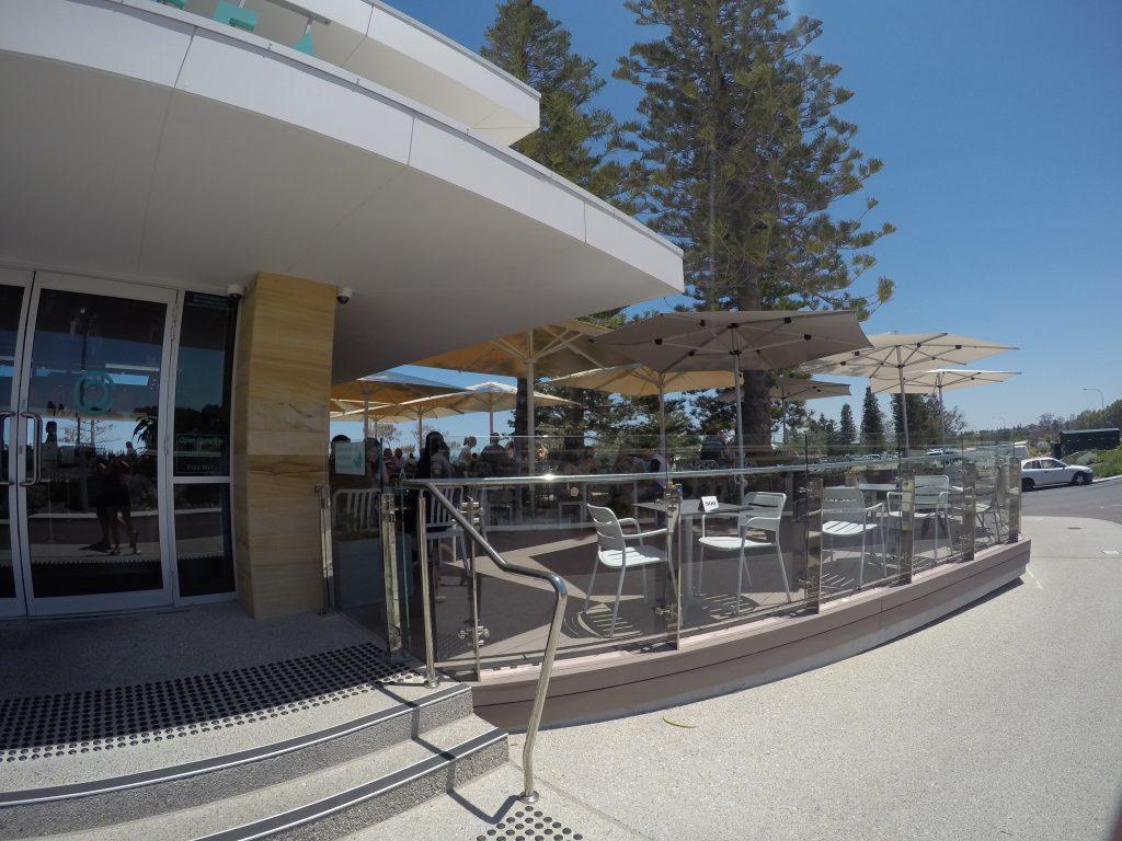 Facilities at City Beach, Perth