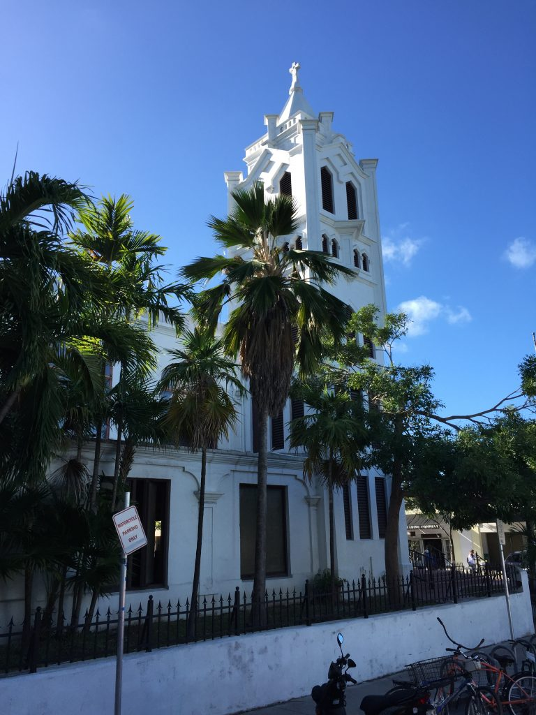 One of Key West's churches