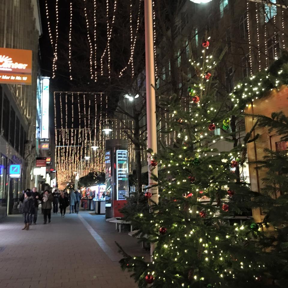 Shopping in Hamburg