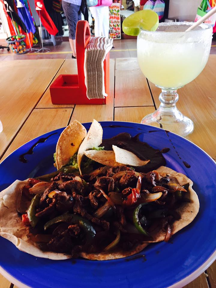 Lunch in Mexico