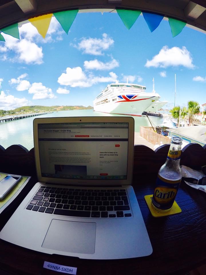 Blogging in Antigua