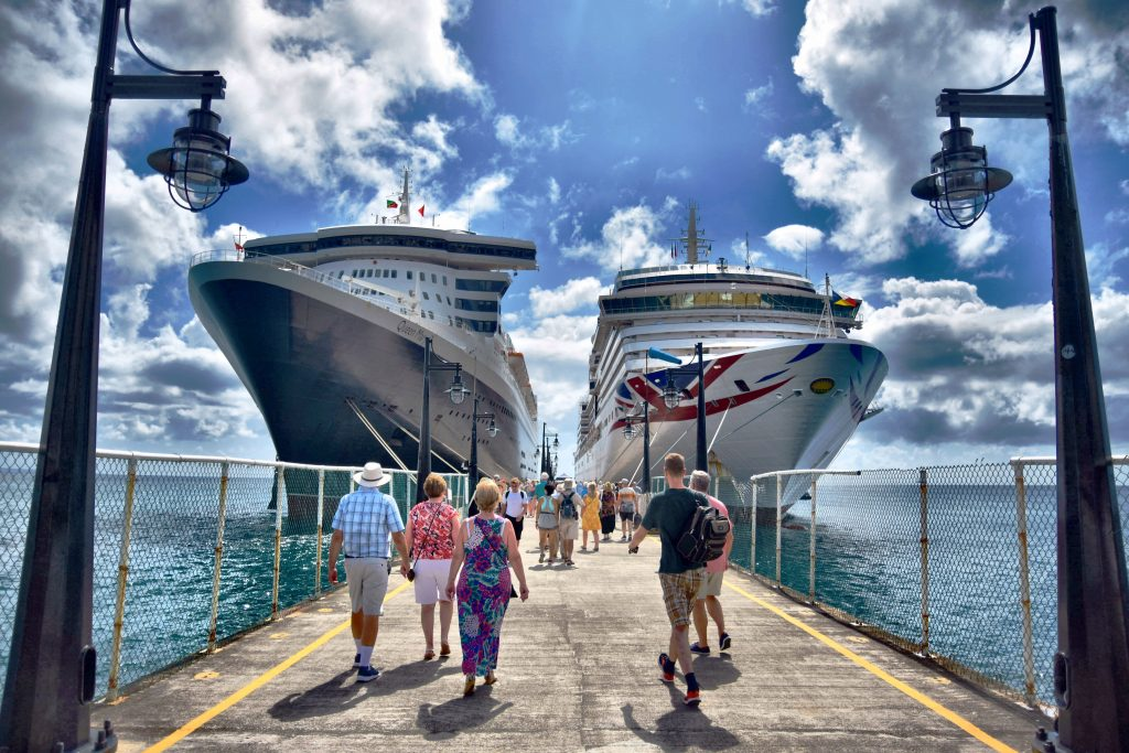 Cruise ships Port Zante