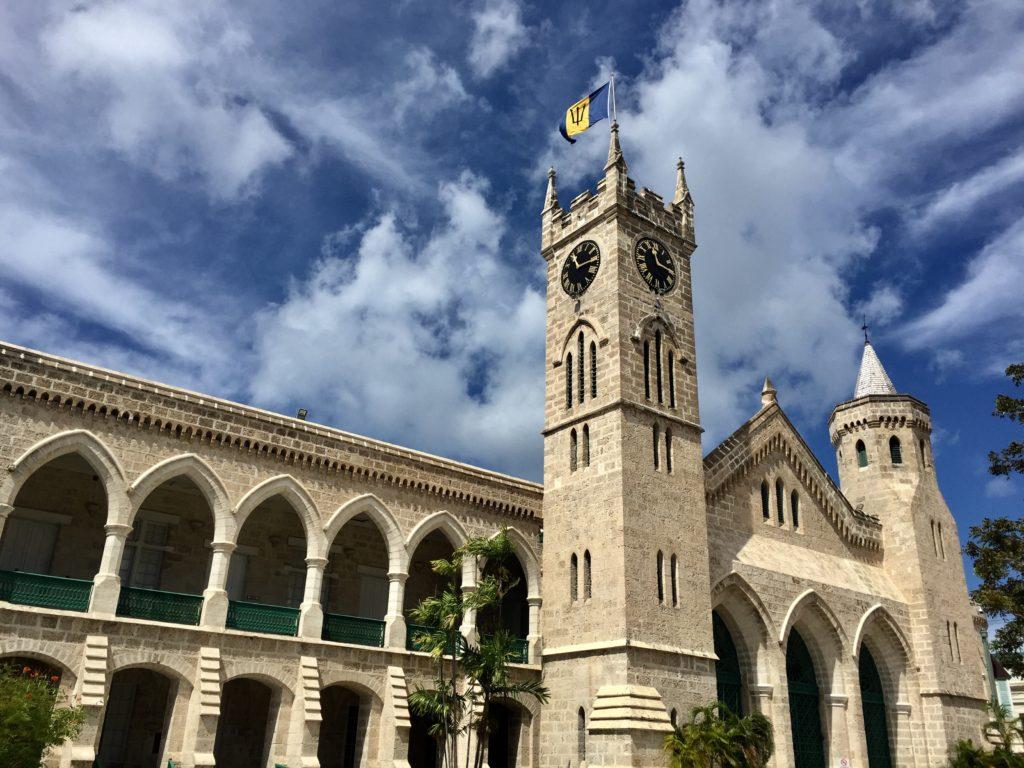 Parliament building Barbados