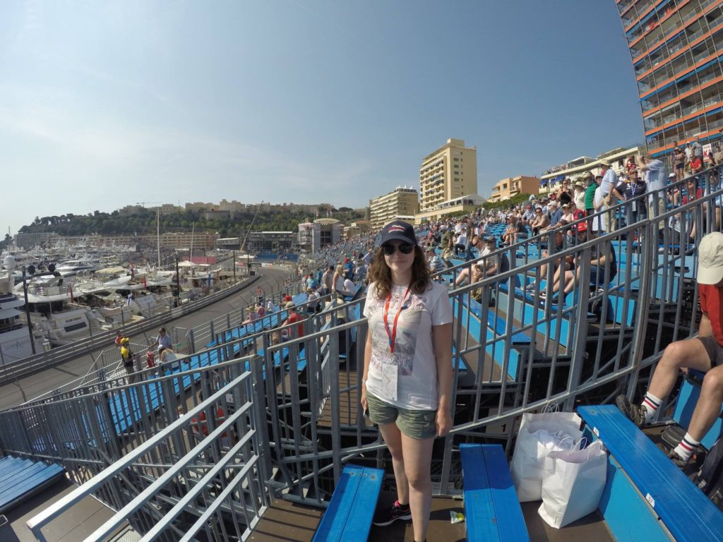 Me at the 2017 Monaco Grand Prix