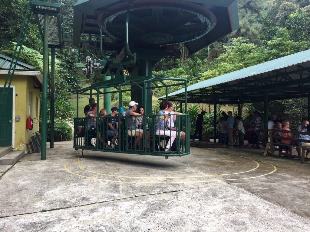 St. Lucia aerial tram