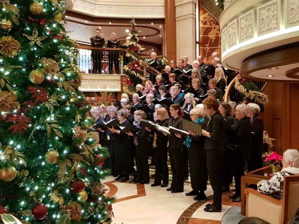Choir in the Grand Lobby