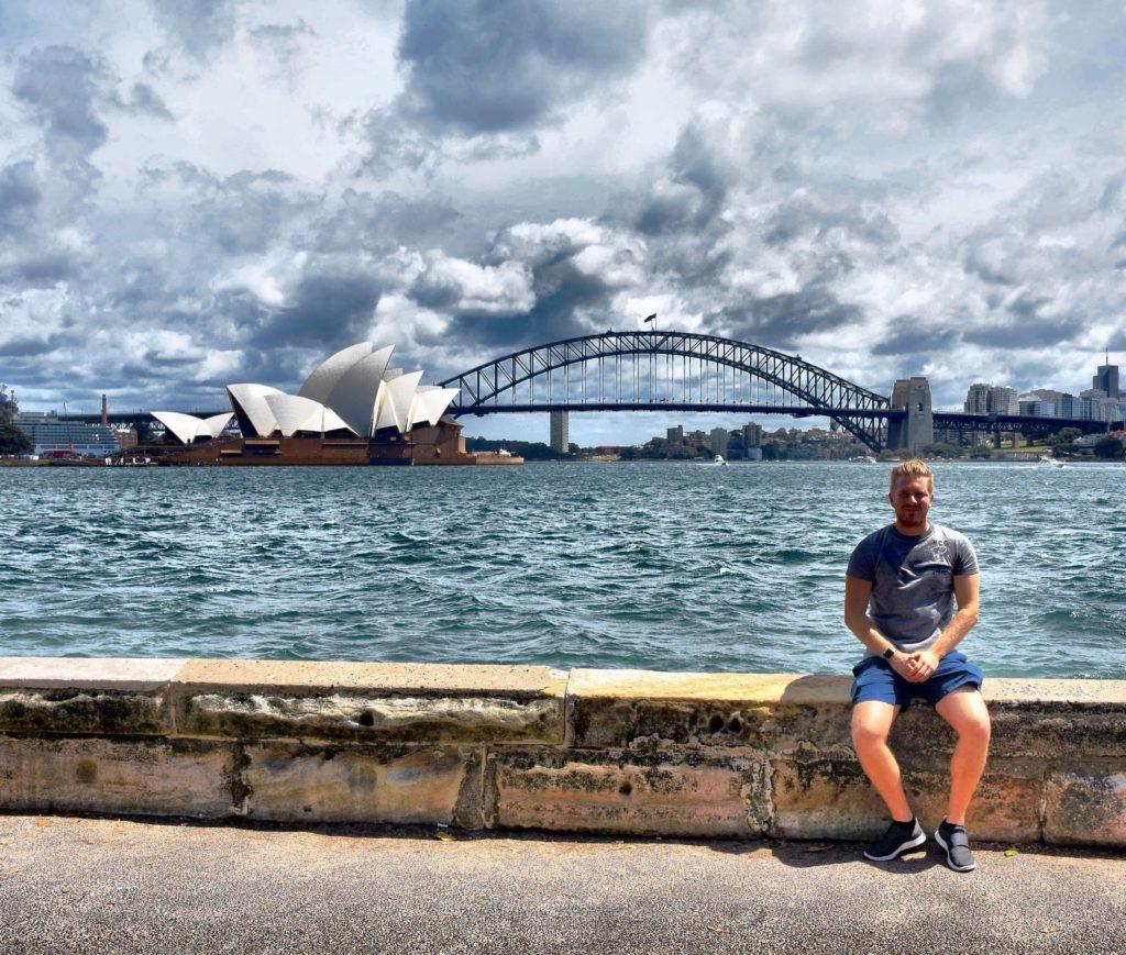 Sam in Sydney