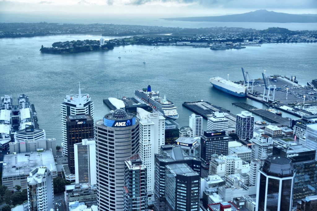 View of Auckland from the Sky Tower