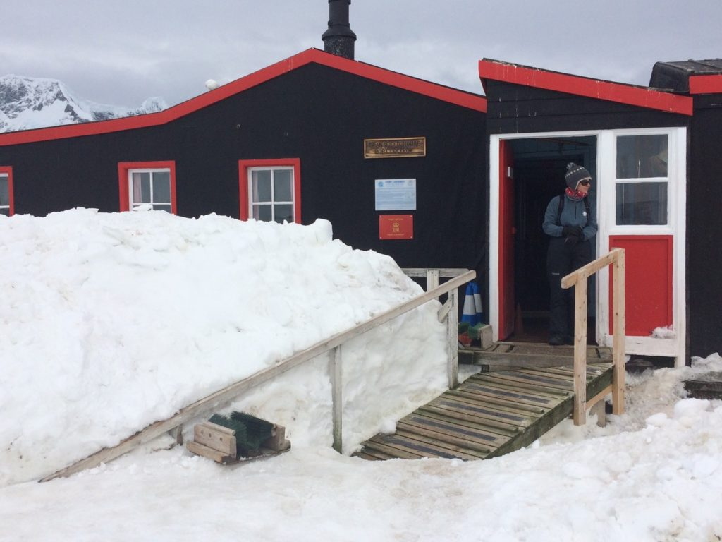 British post office, Port Lockroy, Antarctica