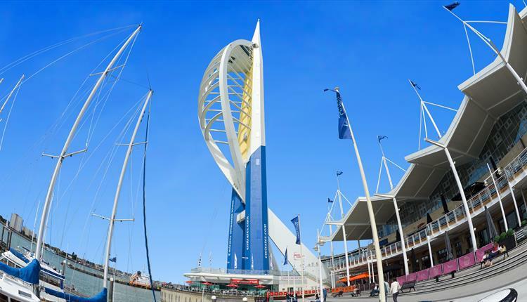 Gunwharf Quays. Credit: Visit Portsmouth