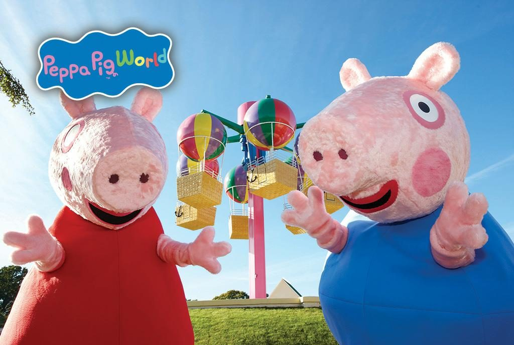 Paultons Park and Peppa Pig World. Credit: Paultons Park