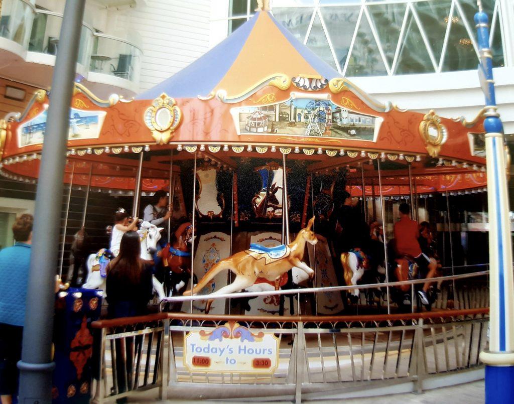 The carousel along the Boardwalk