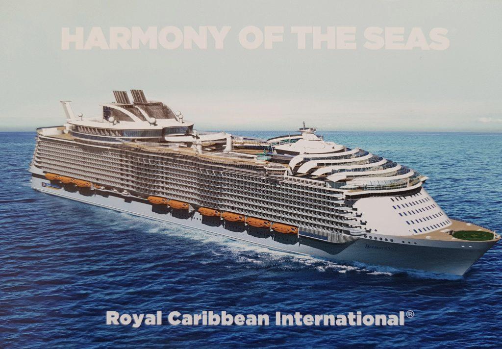 Harmony of the Seas postcard