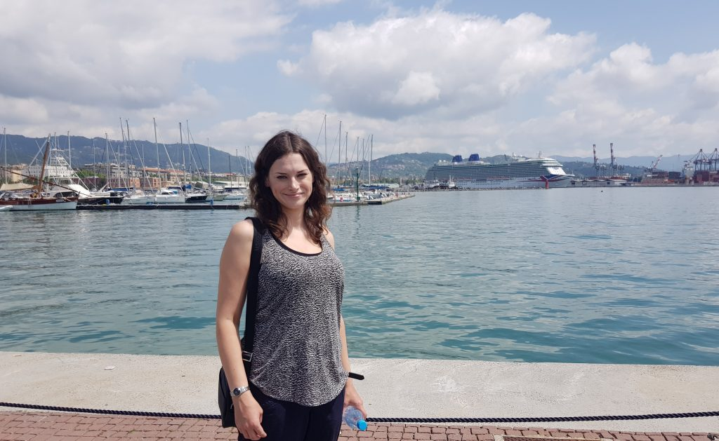 Britannia in La Spezia
