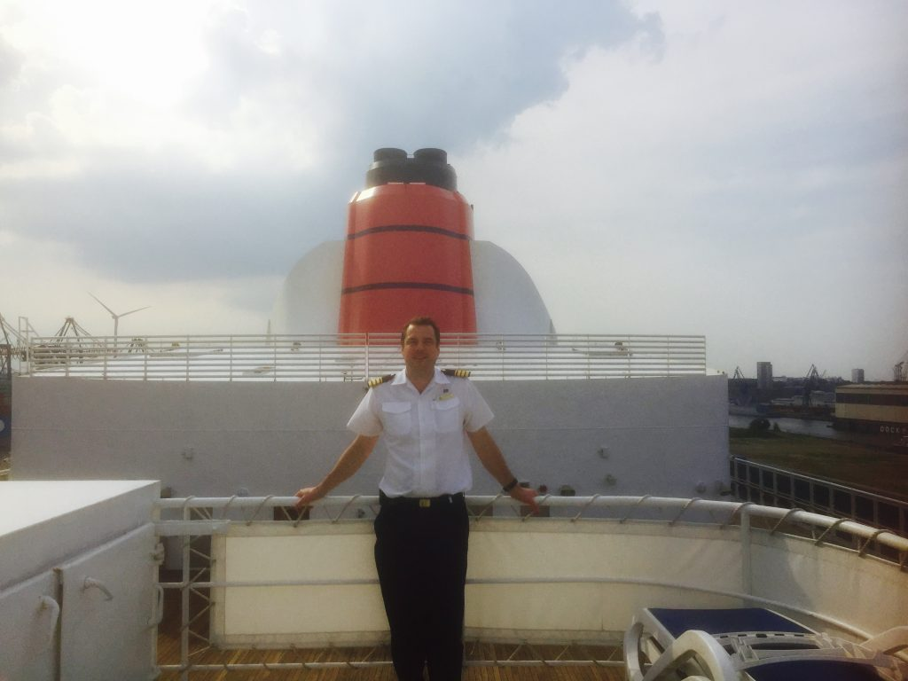 Officer Q&A: My role as an engineer on board Cunard's Queen Mary 2