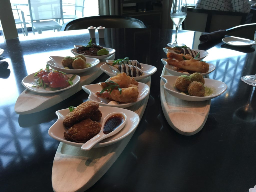 The Glass House small plates