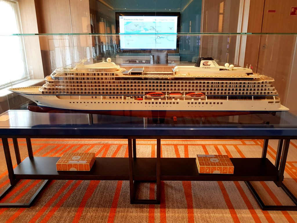 A model of Viking Star