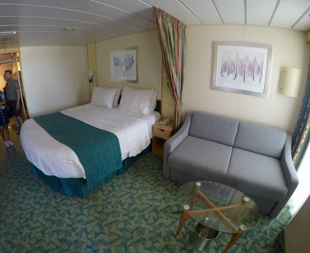 Deluxe Ocean View Balcony stateroom