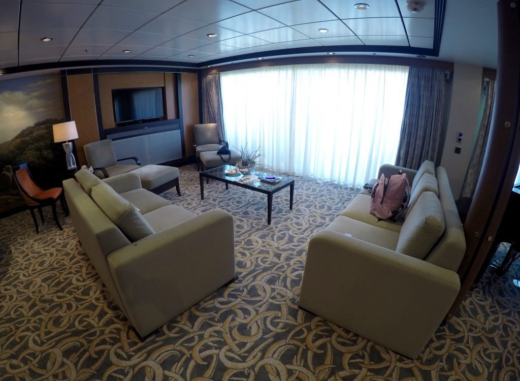 Royal Suite lounge