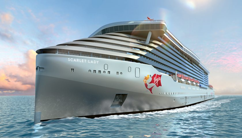 Scarlet Lady. Image: Virgin Voyages