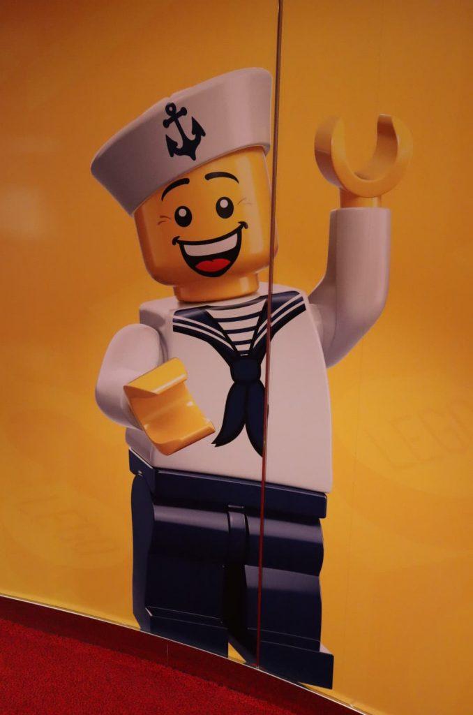 A LEGO sailor