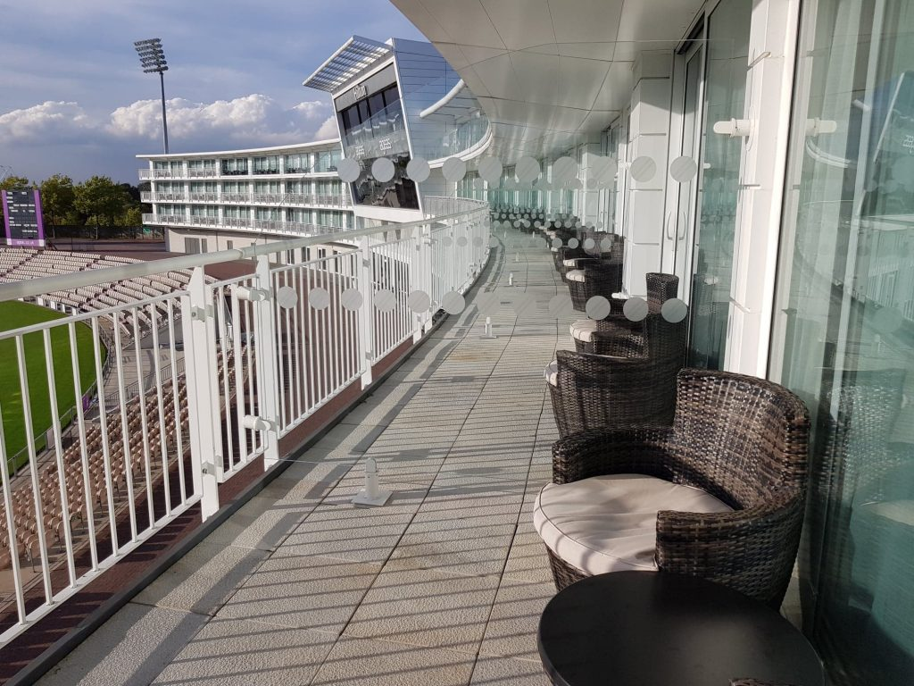 Balcony seating