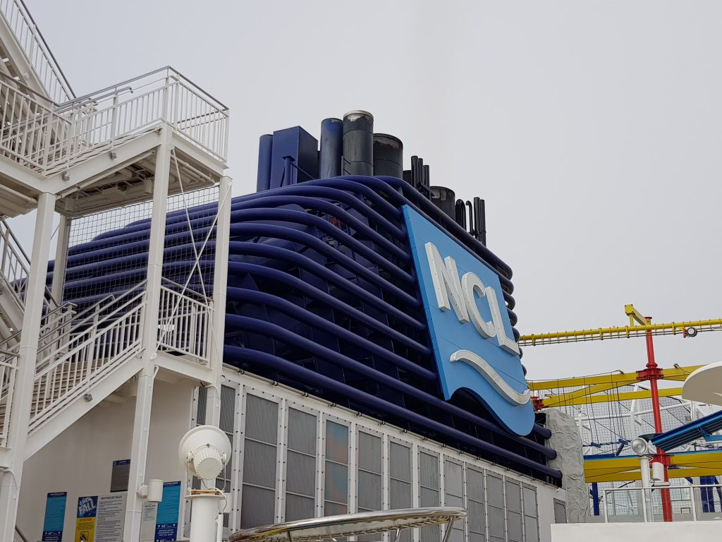 Norwegian Breakaway's funnel
