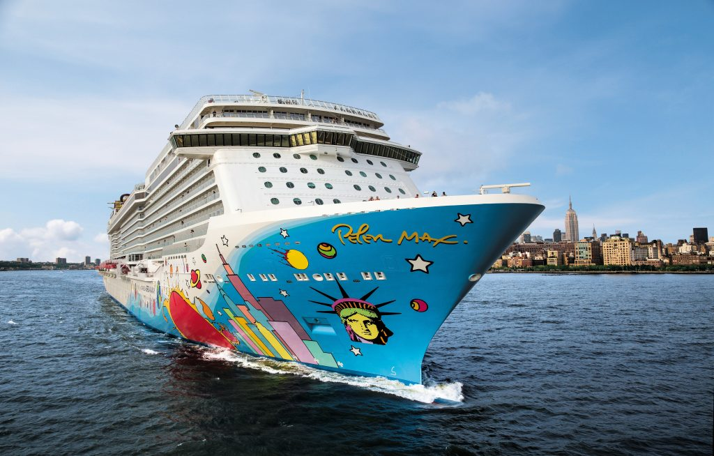 Norwegian Breakaway. Photo: Norwegian Cruise Line