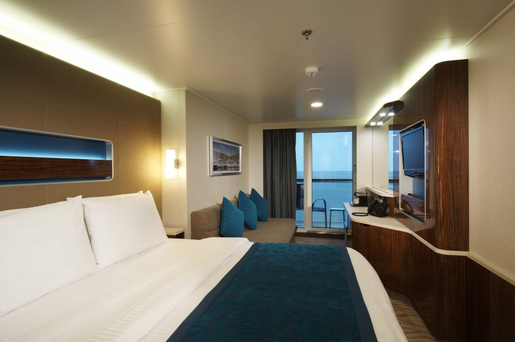 Balcony stateroom. Photo: Norwegian Cruise Line