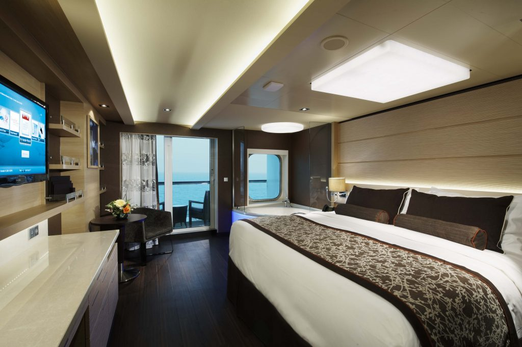 Spa suite. Photo: Norwegian Cruise Line
