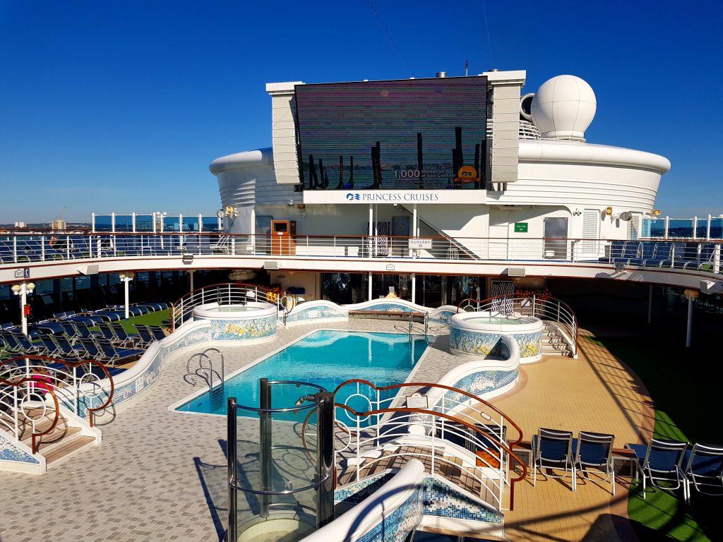 Cruise ship review: Sapphire Princess, Princess Cruises