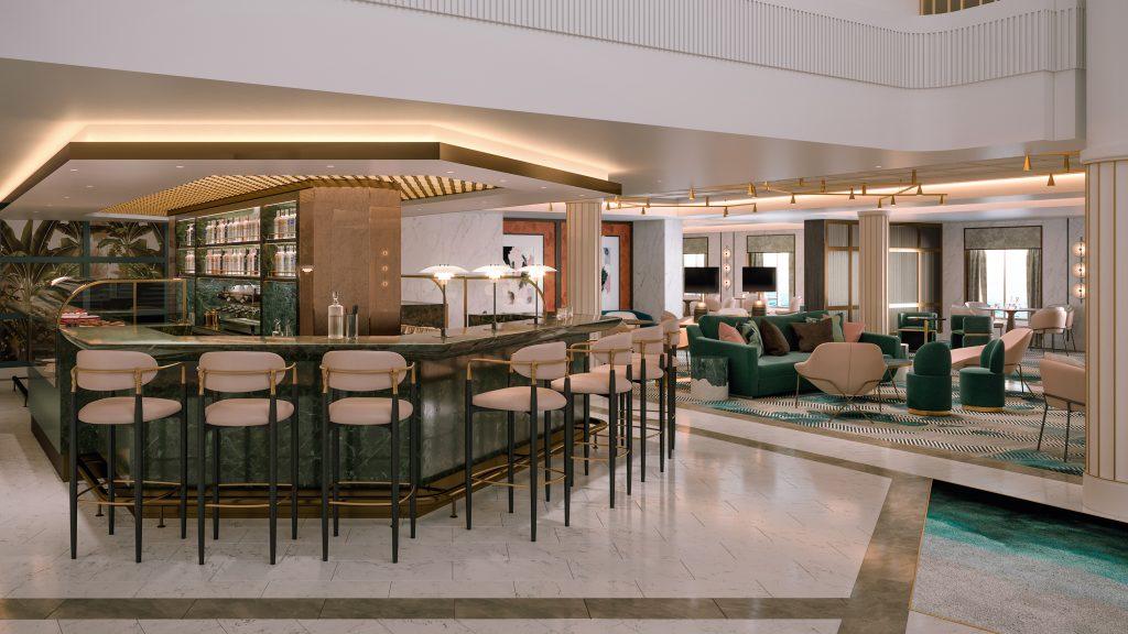 The Living Room. Photo: Saga Cruises