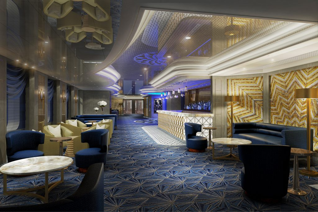Princess Live Cafe. Photo: Princess Cruises