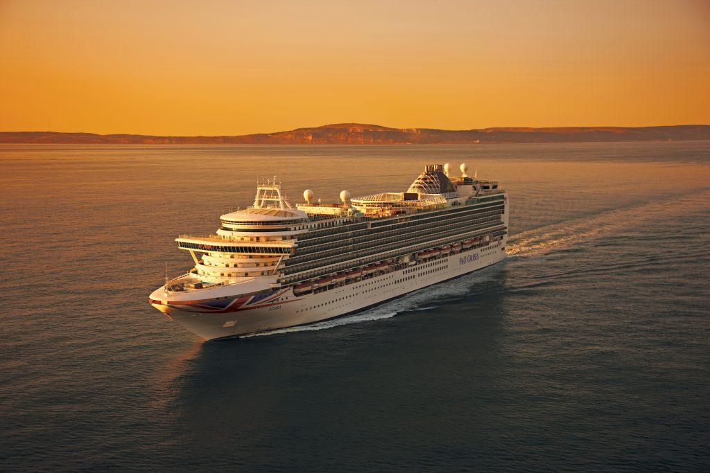 Azura. Image: P&O Cruises