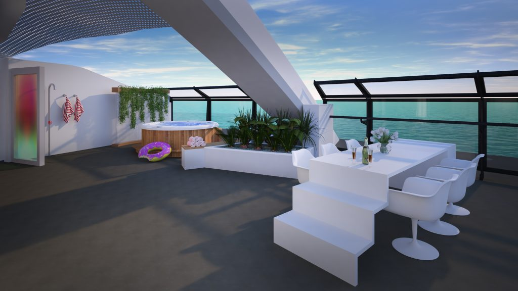 Massive Suite. Image: Virgin Voyages