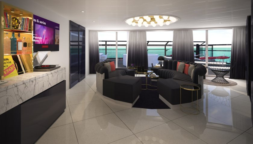 Massive Suite. Image: Virgin Voyages