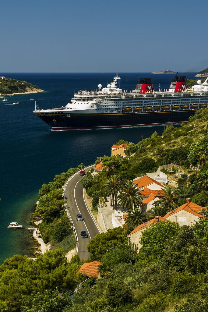 Disney Magic in Croatia. Image: Disney Cruise Line