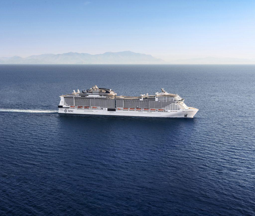 MSC Virtuosa. Image: MSC Cruises
