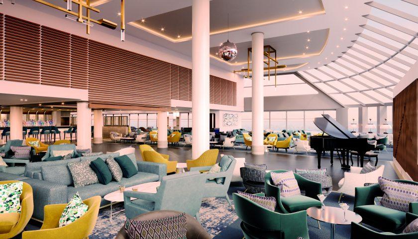 Britannia Lounge. Image: Saga Cruises