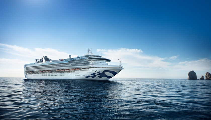 Grand Princess. Image: Princess Cruises